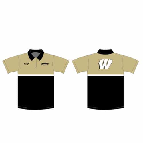 Warren Wrestling Academy Custom Polo Shirt