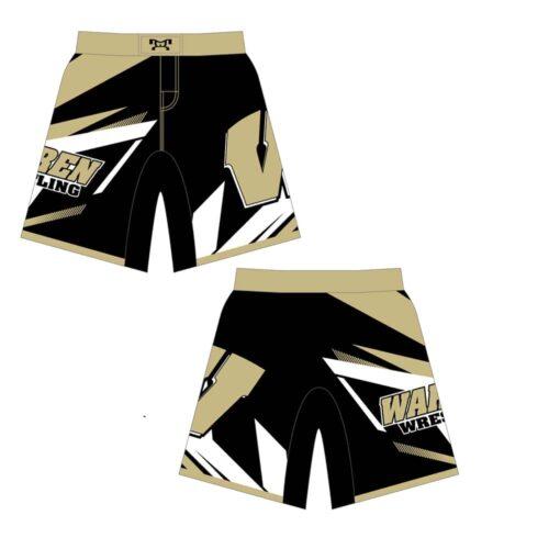 Warren Wrestling Academy Custom Fight Shorts