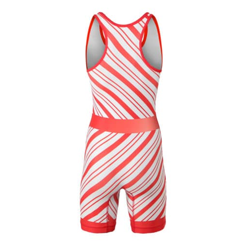 Candy-Cane Christmas Women's Singlet (Pre-Order)
