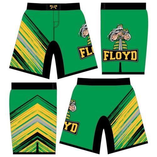 Floyd Wrestling Shorts Custom Fight Shorts