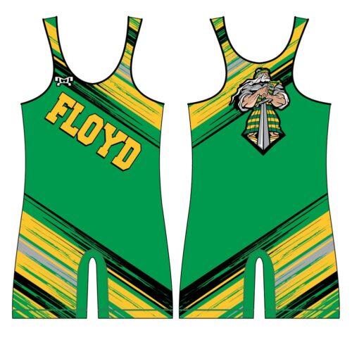 Floyd Wrestling Club Custom Singlet