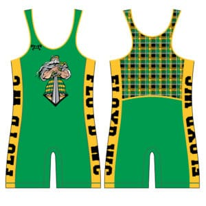 Floyd Wrestling Club Custom Forward Seam Singlet