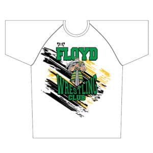 Floyd Wrestling Club Spot Sublimated Dri-Fit T-Shirt