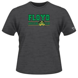 Floyd Wrestling Club Custom Grey T-Shirt