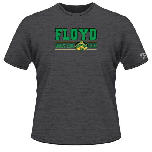 Floyd Wrestling Club Custom Grey T-Shirt