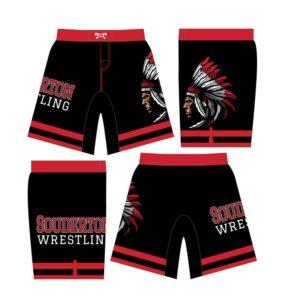 Souderton Youth Wrestling Custom Wrestling Fight Shorts