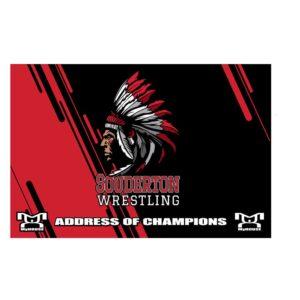 Souderton Youth Wrestling Custom Team Banner