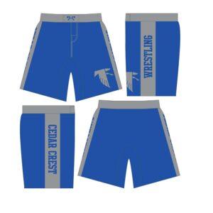 Cedar Crest Sublimated Fight-Shorts