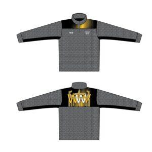 Wrestling with Virtue Custom Heathered Quarter Zip