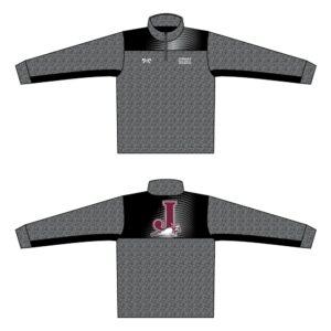Jordan High School Custom Heathered Quarter Zip