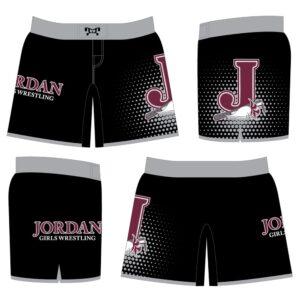Jordan High School Women's Custom Fight Shorts