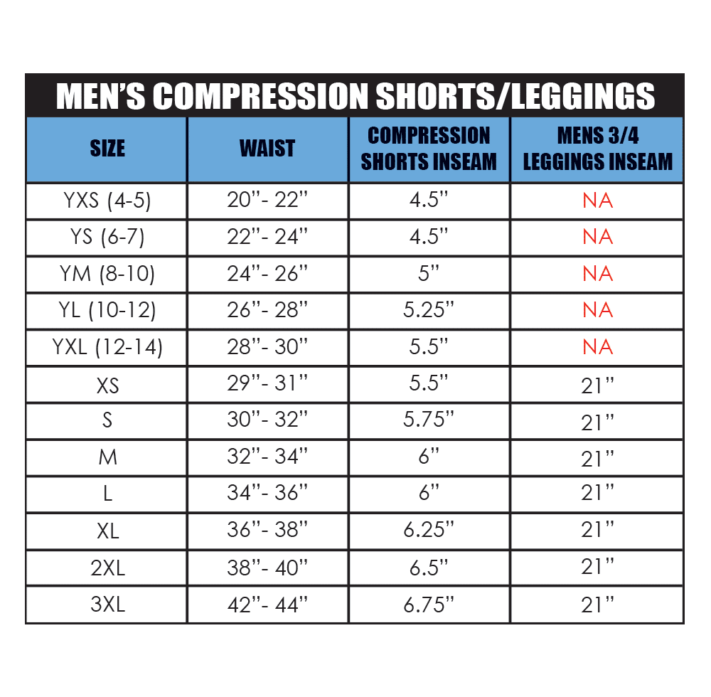 Men's Compression Shorts and Leggings