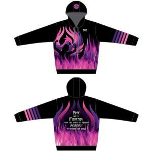 MyHouse Purple Phoenix Hoodie