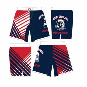 NCWF Sublimated Fight Shorts