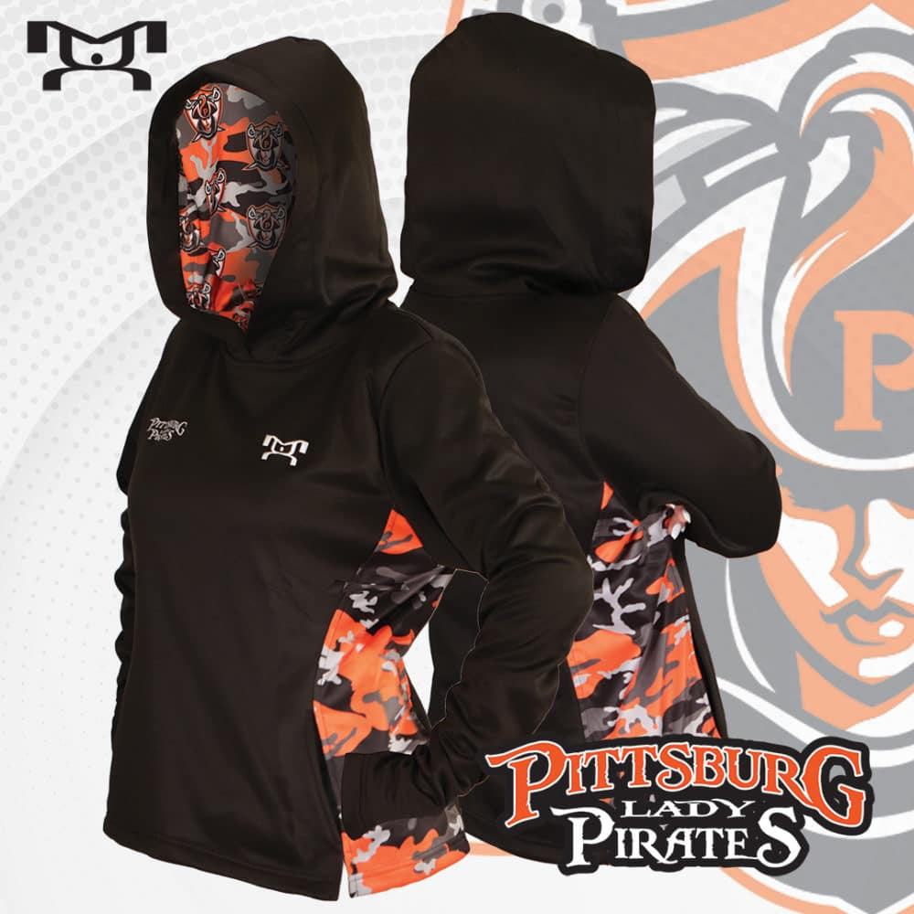 Pittsburg lady pirats hoodie