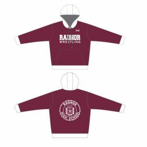 Radnor Wrestling Custom Sublimated Hoodie