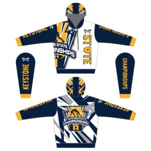 Keystone State Championships Sublimated Hoodie