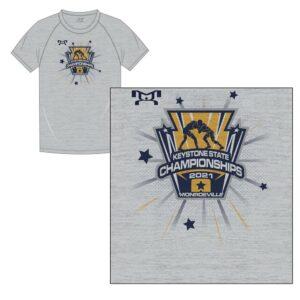 Keystone State Championship Custom Logo Sublimated T-Shirt