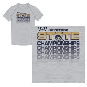 Keystone State Championship Custom Championships Sublimated T-Shirt