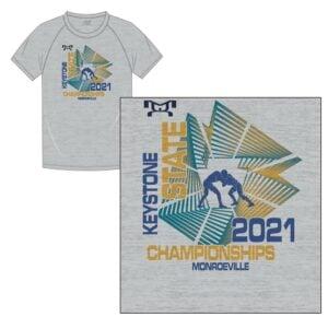 Keystone State Championship Custom Keystone Sublimated T-Shirt