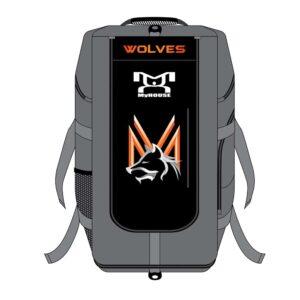 Mid Valley Wolves Custom Blue Hybrid Gear Bag