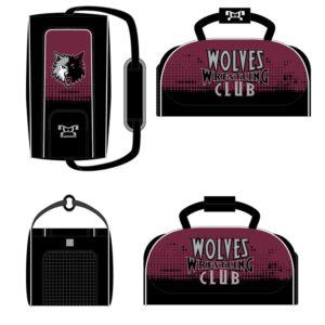 Wolves Wrestling Club Custom Conversion Duffel Bag