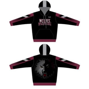 Wolves Wrestling Club Sublimated Hoodie