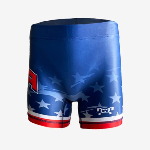 MyHouse Stars and Stripes Women's Compression Shorts