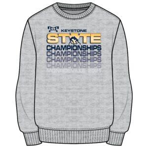 Keystone State Championship Sublimated State Crewneck