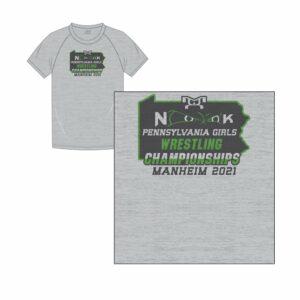 PA Girls Championship Custom Sublimated Green T-Shirt